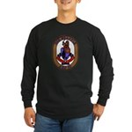 USS Grapple ARS 53 US Navy Ship Long Sleeve Dark T
