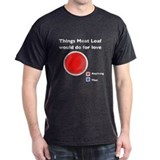 T-Hee Shirts! -- Meat Loaf pie chart
