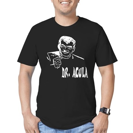 Dr Acula Mens Fitted Dark T-Shirt