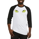 Halloween Cat's Eye Baseball Jersey
