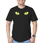 Halloween Cat's Eye Men's Fitted T-Shirt (dark)