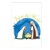 Nativity Scene Postcards (Package of 8)