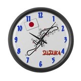 Suzuka Large Wall Clock