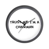 Trust Me: Chairman Wall Clock