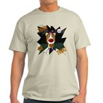 Collie Clown Halloween Light T-Shirt