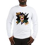 Collie Clown Halloween Long Sleeve T-Shirt