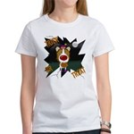 Collie Clown Halloween Women's T-Shirt