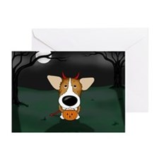 Corgi Devil Halloween Greeting Cards (Pk of 20)