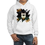 Red Aussie Devil Halloween Hooded Sweatshirt