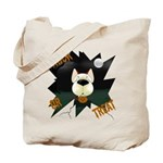 Red Aussie Devil Halloween Tote Bag
