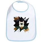 Red Aussie Devil Halloween Bib