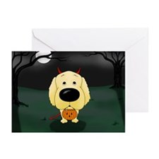 Golden Devil Halloween Greeting Cards (Pk of 10)