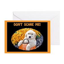 Halloween Puppy Greeting Card