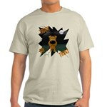 Irish Terrier Devil Halloween Light T-Shirt