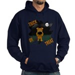Irish Terrier Devil Halloween Hoodie (dark)