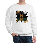 Irish Terrier Devil Halloween Sweatshirt