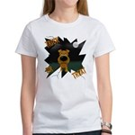 Irish Terrier Devil Halloween Women's T-Shirt
