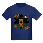 Irish Terrier Devil Halloween Kids Dark T-Shirt