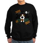 Wire Jack Devil Halloween Sweatshirt (dark)