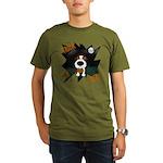 Wire Jack Devil Halloween Organic Men's T-Shirt (d