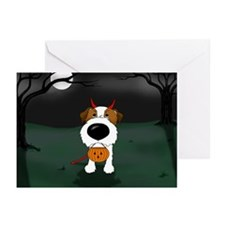 Wire Jack Devil Halloween Greeting Cards (Pk of 10