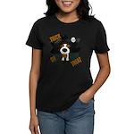 Wire Jack Devil Halloween Women's Dark T-Shirt