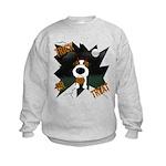 Wire Jack Devil Halloween Kids Sweatshirt