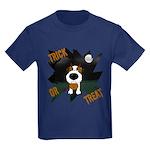 Wire Jack Devil Halloween Kids Dark T-Shirt