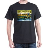 Bus Driver's Black T-Shirt