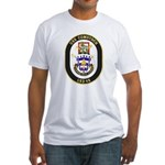USS Comstock LSD 45 US Navy Ship Fitted T-Shirt