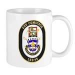 USS Comstock LSD 45 US Navy Ship Mug