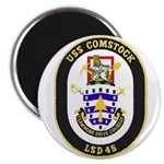 USS Comstock LSD 45 US Navy Ship Magnet