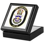 USS Comstock LSD 45 US Navy Ship Keepsake Box