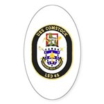 USS Comstock LSD 45 US Navy Ship Sticker (Oval 10