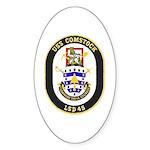 USS Comstock LSD 45 US Navy Ship Sticker (Oval 10