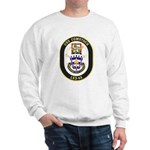 USS Comstock LSD 45 US Navy Ship Sweatshirt