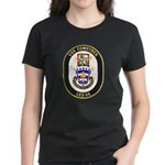 USS Comstock LSD 45 US Navy Ship Women's Dark T-Sh