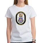 USS Comstock LSD 45 US Navy Ship Women's T-Shirt