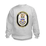 USS Comstock LSD 45 US Navy Ship Kids Sweatshirt