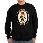 USS Defender MCM 2 US Navy Ship Sweatshirt (dark)
