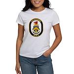 USS Defender MCM 2 US Navy Ship Women's T-Shirt