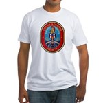 USS Gladiator MCM 11 US Navy Ship Fitted T-Shirt