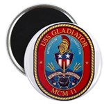 USS Gladiator MCM 11 US Navy Ship Magnet