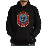 USS Gladiator MCM 11 US Navy Ship Hoodie (dark)