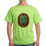 USS Gladiator MCM 11 US Navy Ship Green T-Shirt