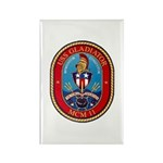 USS Gladiator MCM 11 US Navy Ship Rectangle Magnet
