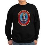 USS Gladiator MCM 11 US Navy Ship Sweatshirt (dark