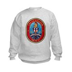 USS Gladiator MCM 11 US Navy Ship Kids Sweatshirt