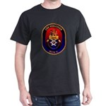 USS Guardian MCM 5 US Navy Ship Dark T-Shirt