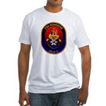 USS Guardian MCM 5 US Navy Ship Fitted T-Shirt